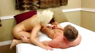Marvelous fucking of natural blonde doxy and forceful horny boy