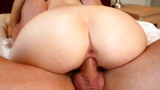 Fantastic brown-haired darling fucked in worthwhile ass opening